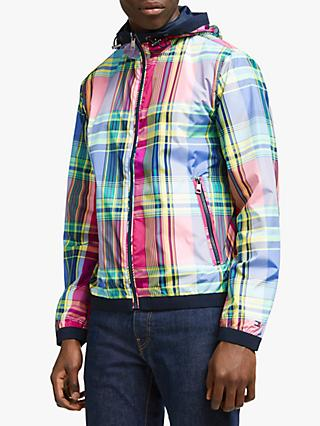 3ba69f20 Tommy Hilfiger Reversible Madras Jacket, Multi