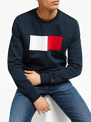 6c8d182b4a0 Tommy Hilfiger Flag Chest Logo Sweatshirt