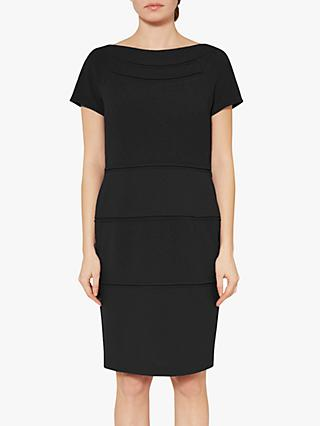 Gina Bacconi Danuta Scuba Dress, Black