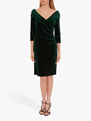 Gina Bacconi Bridget Velvet Midi Dress