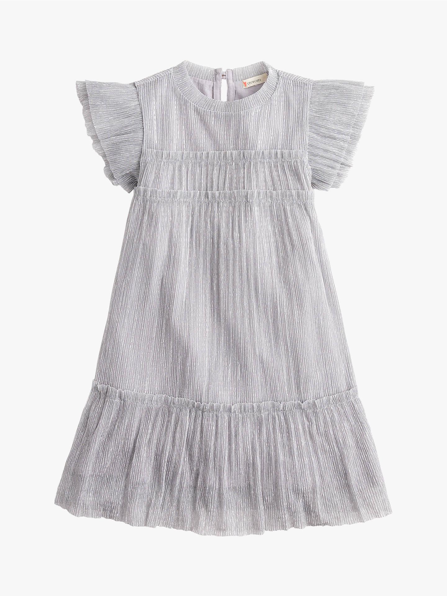 239e2498fa0 Buy crewcuts by J.Crew Girls  Janelle Metallic Pleat Dress