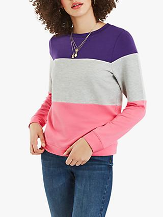 Oasis Colourblock Sweatshirt, Multi