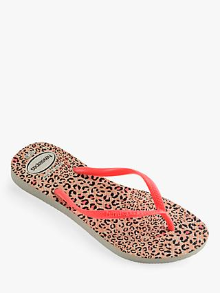 48e90653d7f78 Havaianas Children s Animal Slim Flip Flops
