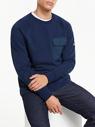 Penfield Mansel Pocket Detail Sweatshirt, Navy
