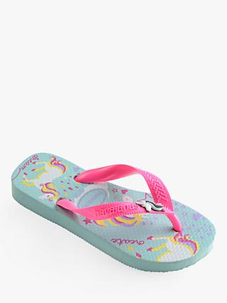 7a7165a6aa2df2 Havaianas Children s Top Fantasy Unicorn Flip Flops