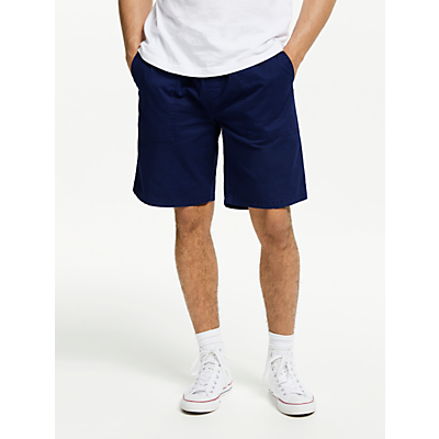 Penfield Lippman Cotton Shorts, Navy