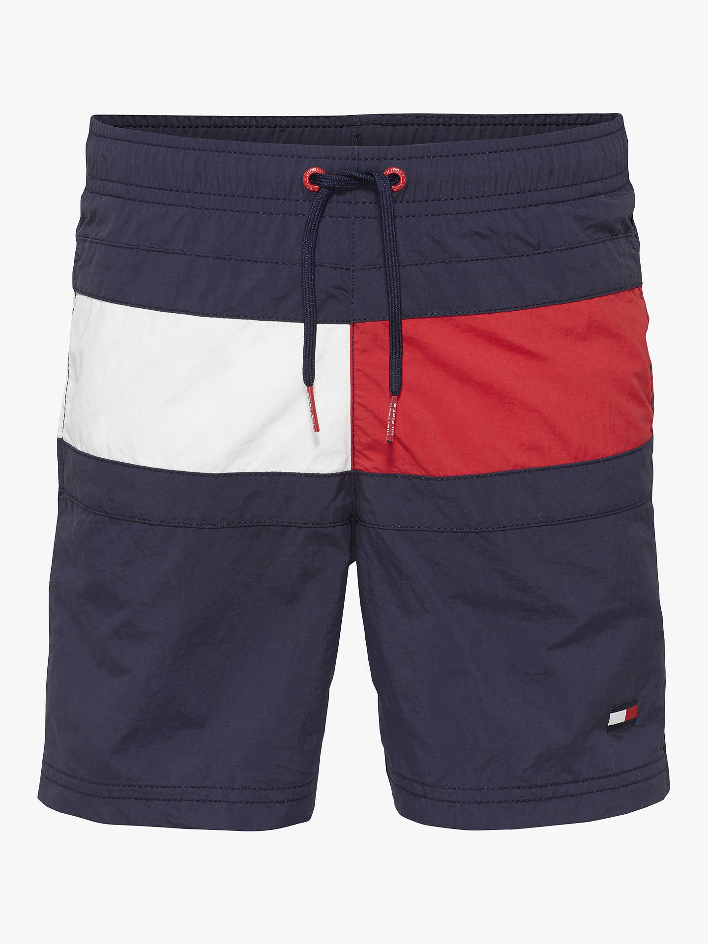 ea9ca0871 Buy Tommy Hilfiger Boys' Flag Swimming Shorts, Navy, 10-12 years Online ...
