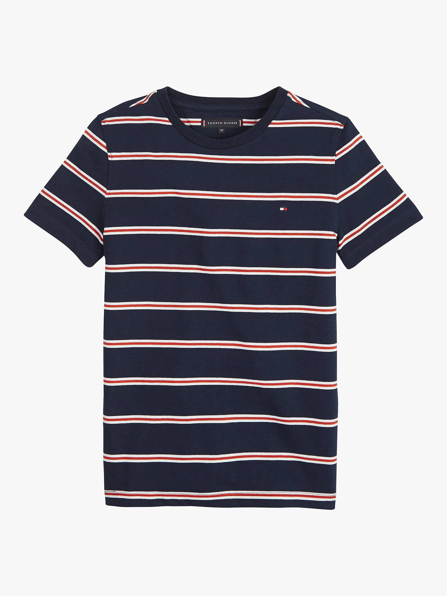 b805e641a Buy Tommy Hilfiger Boys  Stripe Short Sleeve T-Shirt