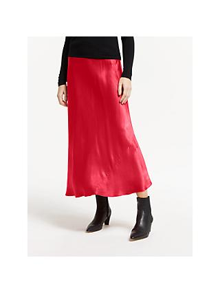 Finery Alberte Satin Skirt