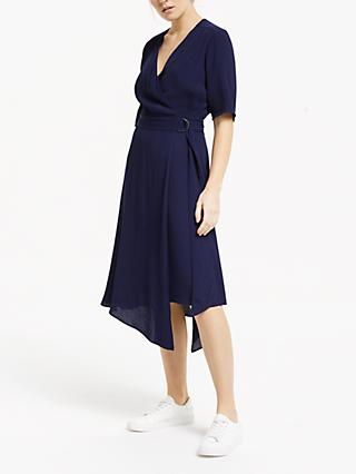 Finery Hettie Dress, Navy