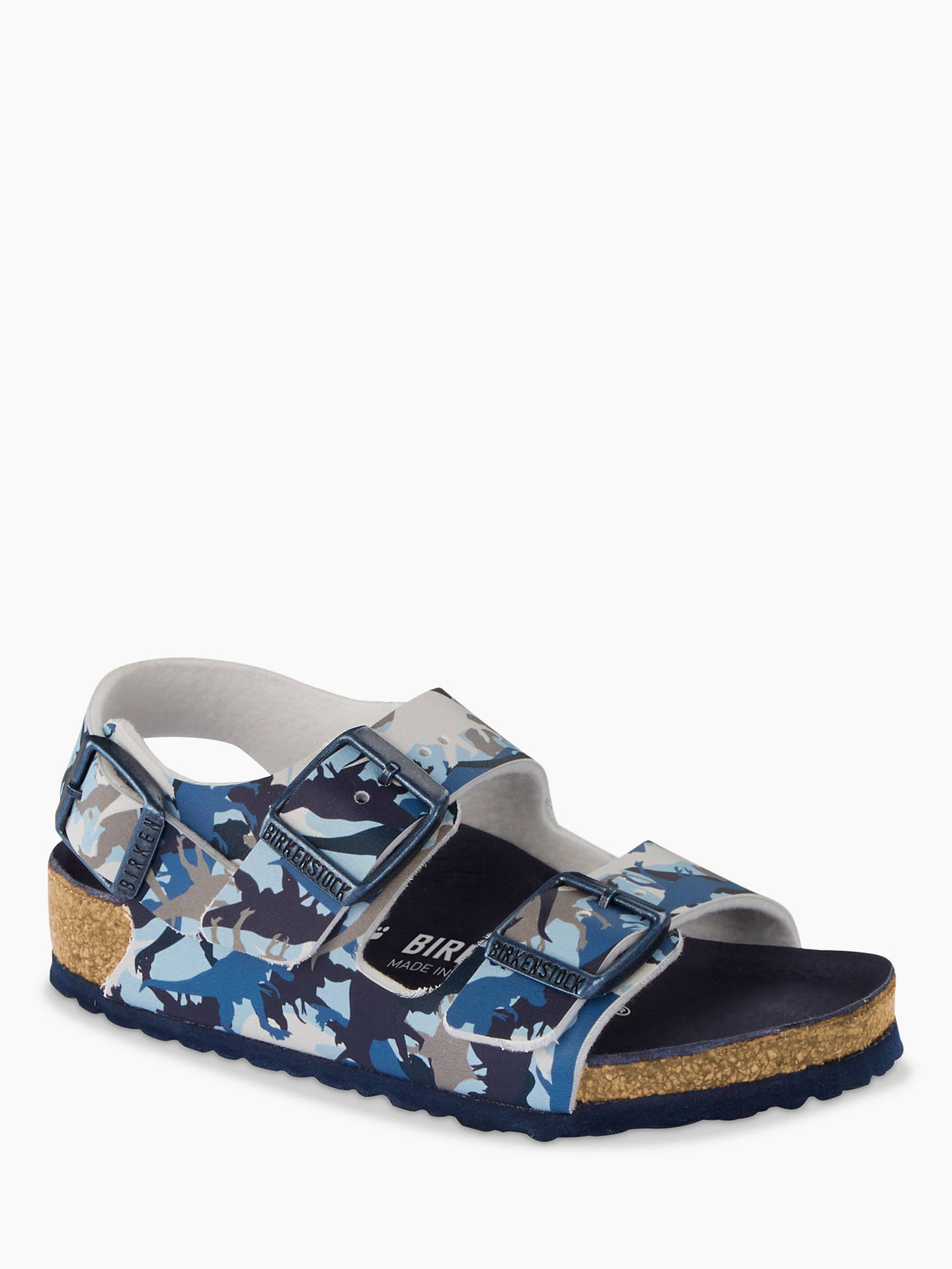 d04ea0f70262 Buy Birkenstock Children s Milano Dino Camo Buckle Sandals