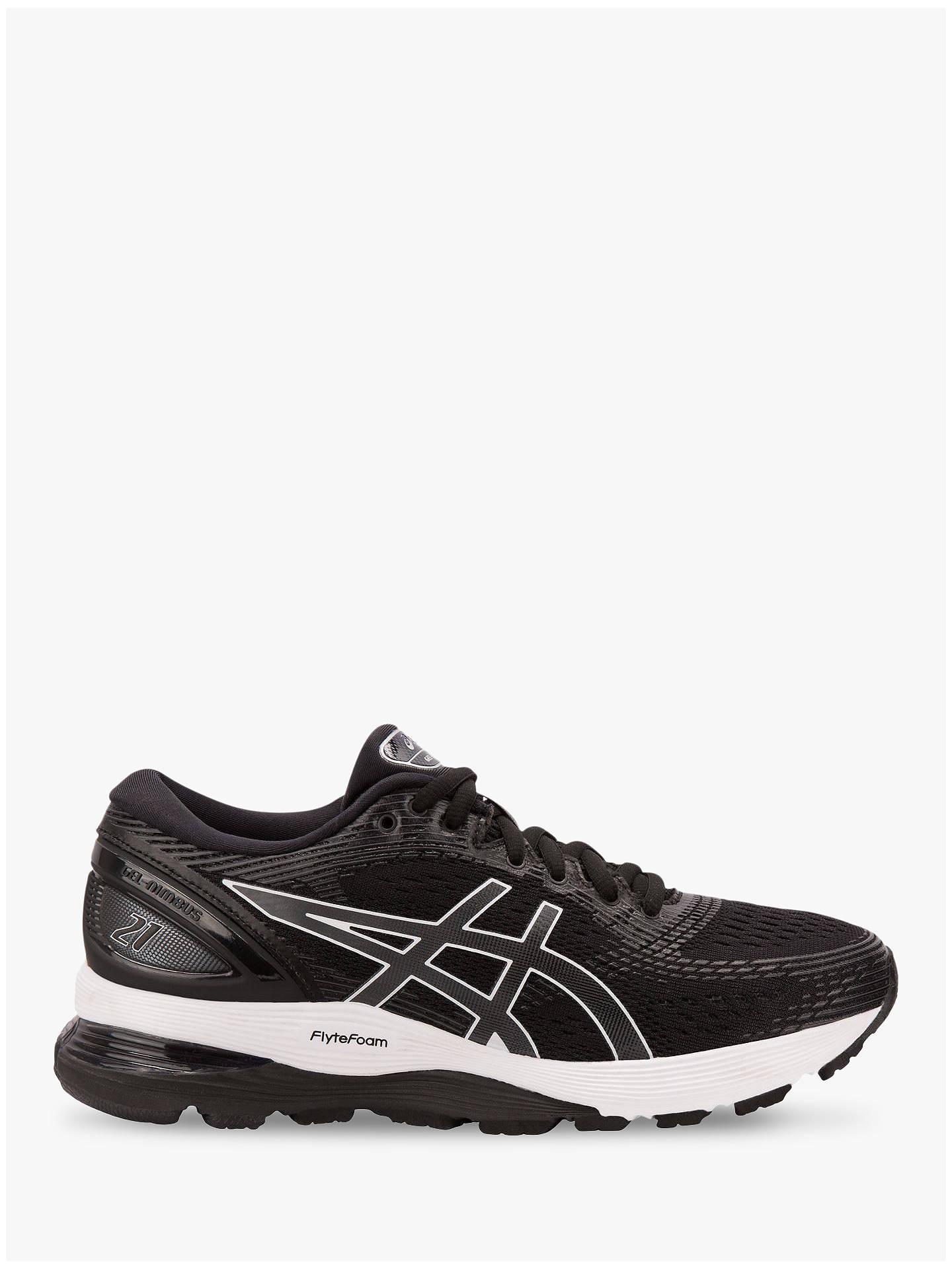 on sale 73e94 6a860 ASICS GEL-NIMBUS 21 Women's Running Shoes, Black/Dark Grey