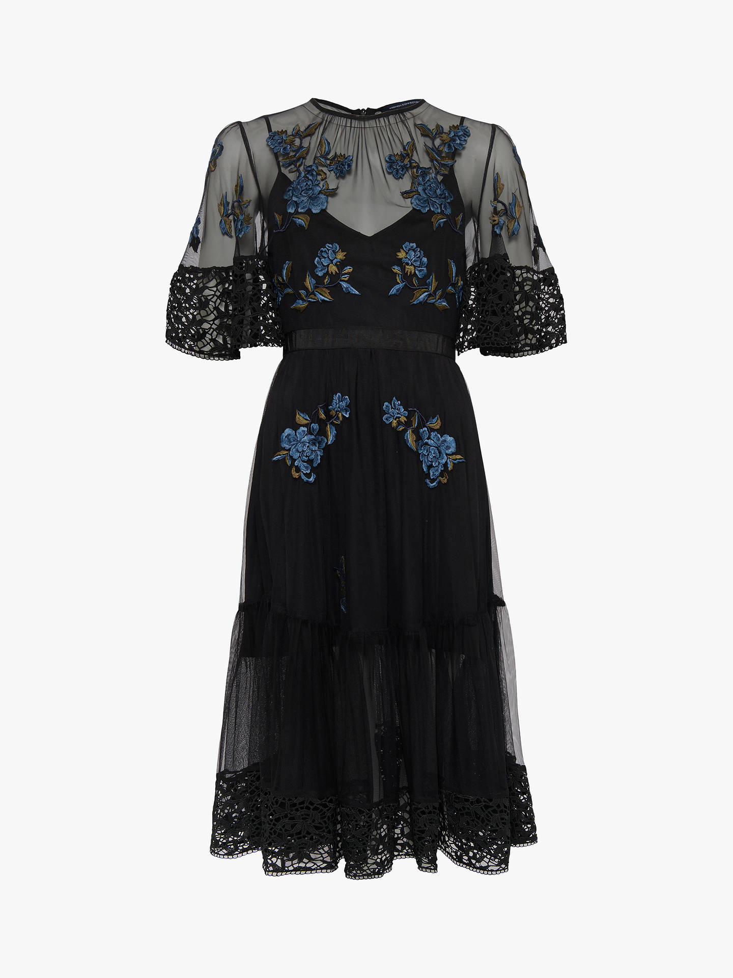 ec1a41d164d Buy French Connection Ambre Embroidered Lace Floral Dress