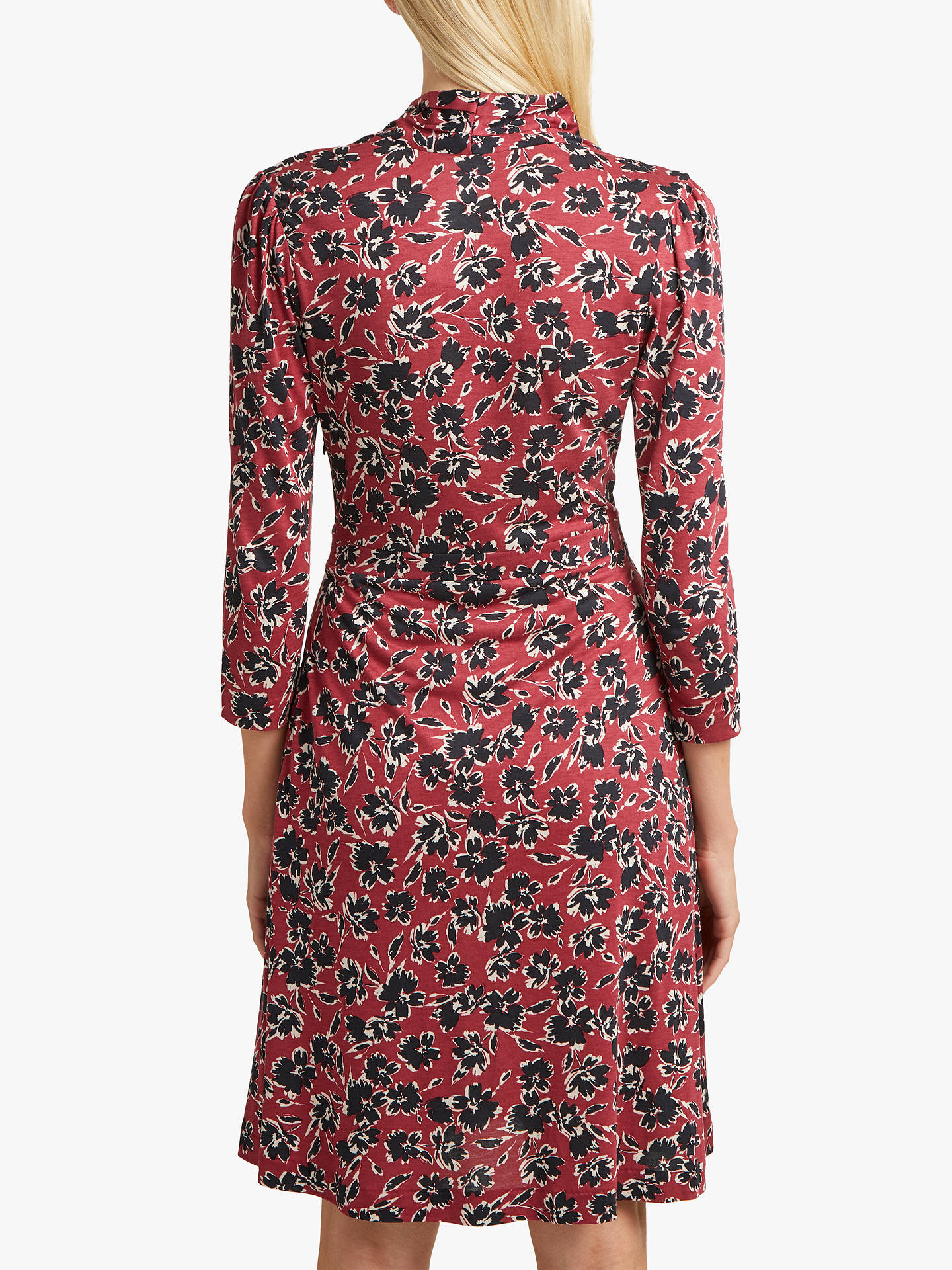 789540967b994 ... Buy French Connection Aubi Floral Wrap Dress, Rosso Red/Multi, 6 Online  at ...