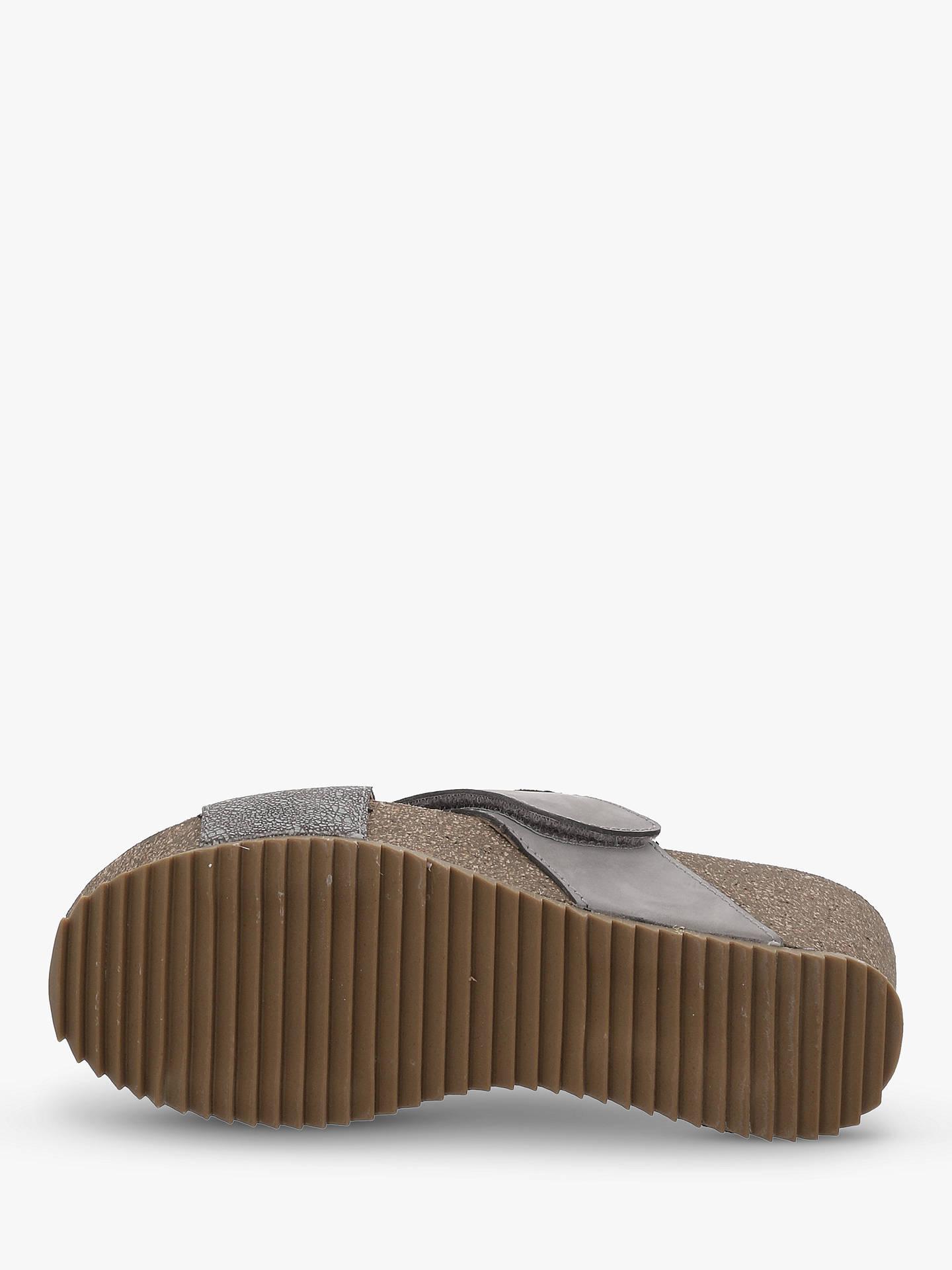 7fddbf1d9affb ... Buy Josef Seibel Meike 15 Cross Over Strap Sandals, Asphalt, 4 Online  at johnlewis