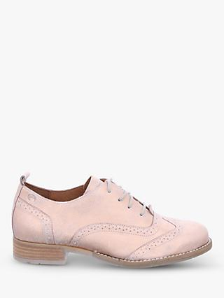 Josef Seibel Sienna 89 Lace Up Brogues, Nude Leather