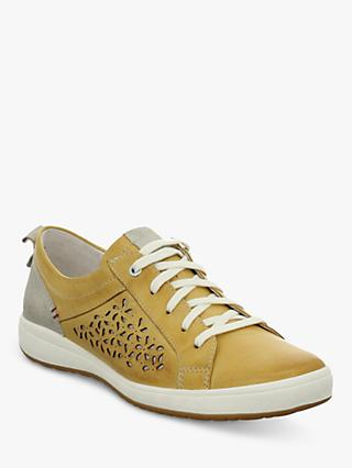 Josef Seibel Caren 06 Low Top Cut Out Flatform Trainers