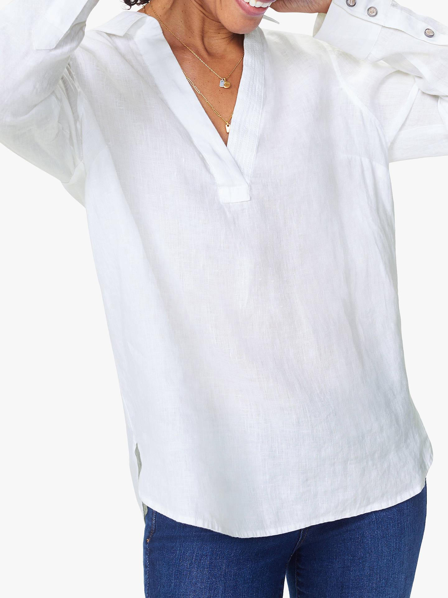 b46bc5f2de31a ... Buy NYDJ Popover Linen Shirt