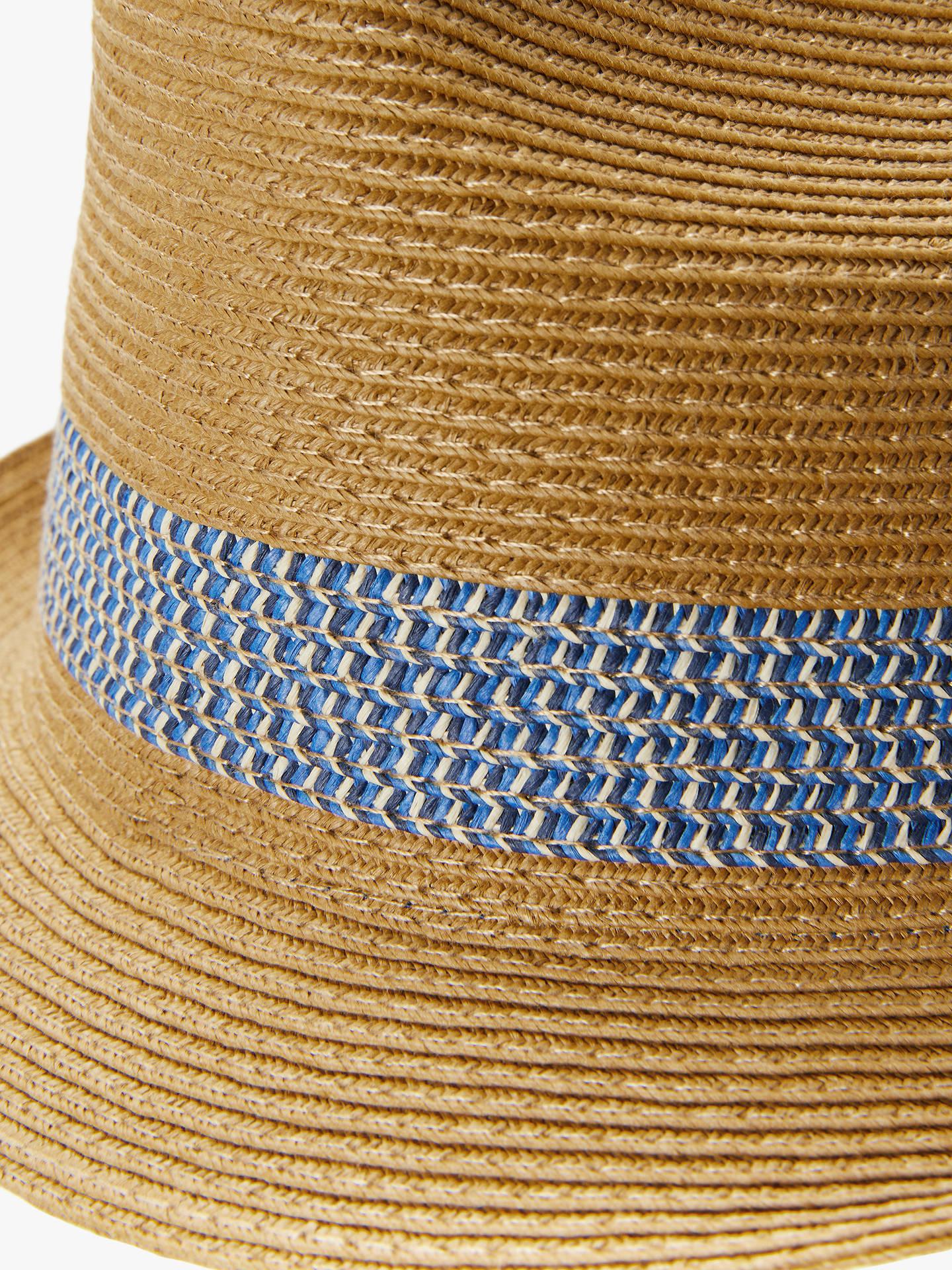94d06f202ef07 Ted Baker Lemony Woven Trilby Hat at John Lewis   Partners