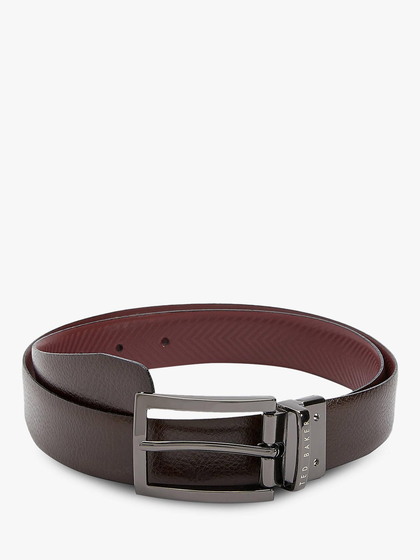 29d7133ae868 Ted Baker Hammok Reversible Leather Belt at John Lewis   Partners