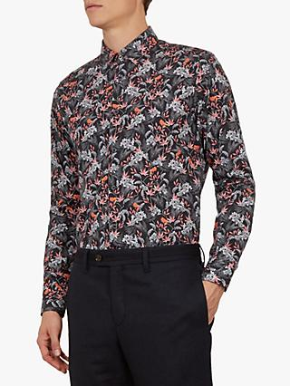 Ted Baker Thefern Long Sleeve Floral Shirt