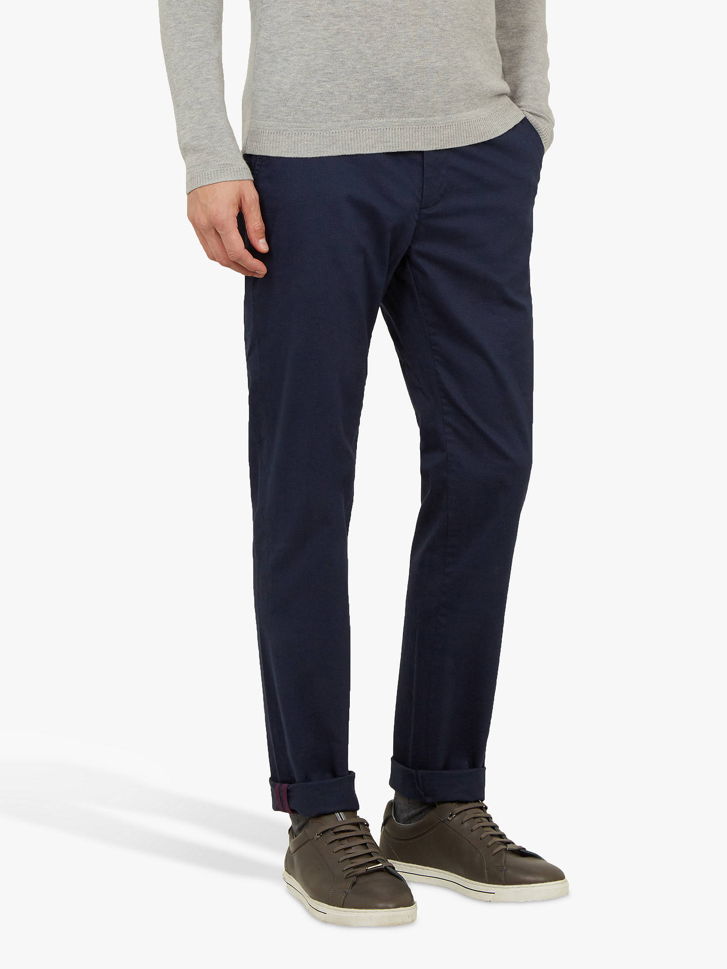 89320c5e2 Ted Baker Sladrid Slim Fit Printed Chinos at John Lewis   Partners