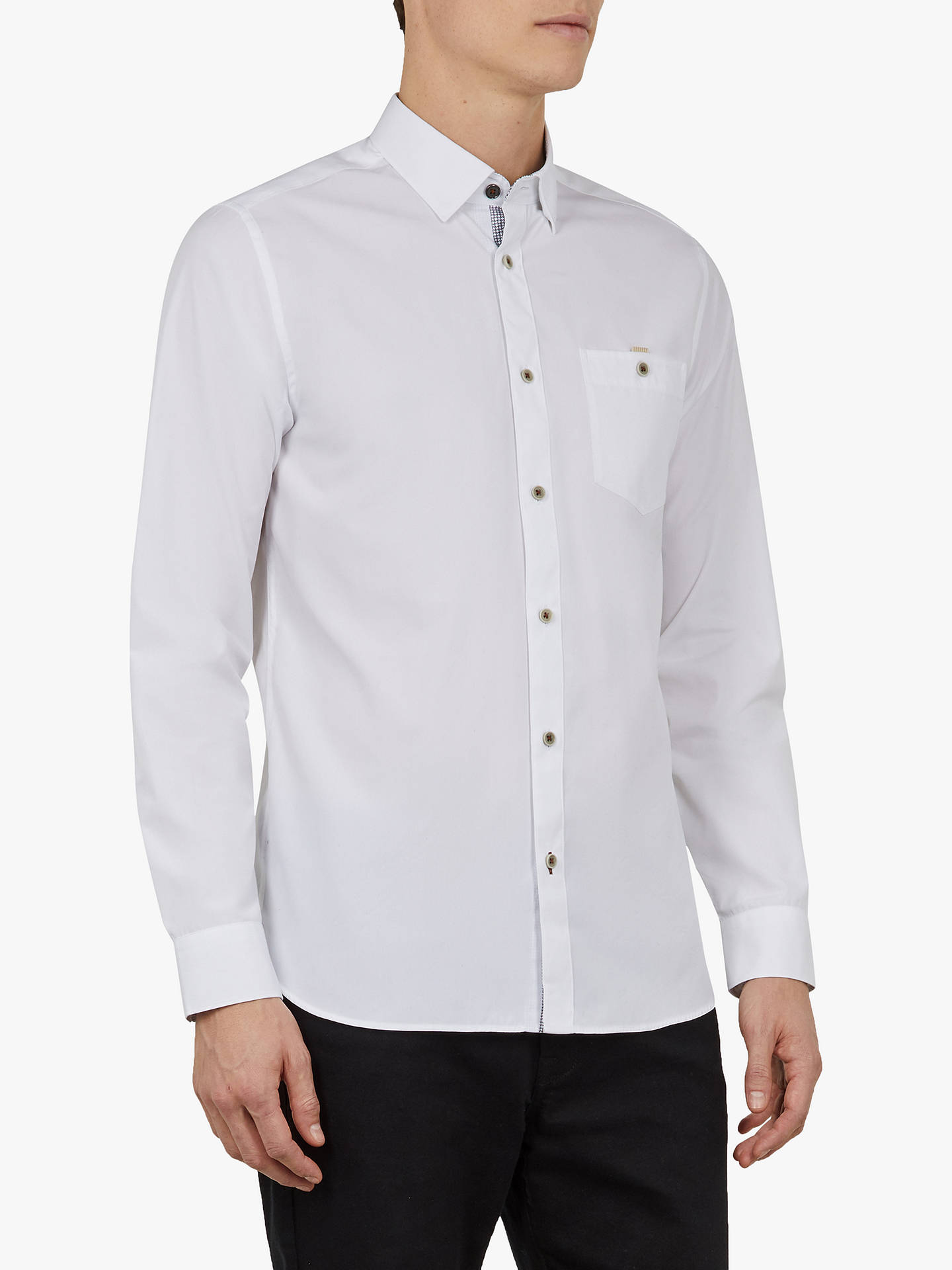 565e408fa3f188 Ted Baker Kickit Slim Fit Shirt at John Lewis   Partners