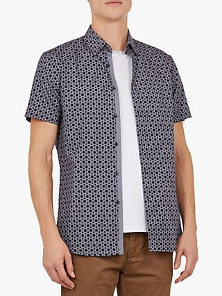 Ted Baker Enyone Short Sleeve Printed Shirt