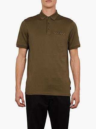 bfc6645f997f6c Ted Baker Critter Short Sleeve Polo Shirt