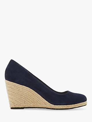 Dune Annabela High Wedge Heel Court Shoes