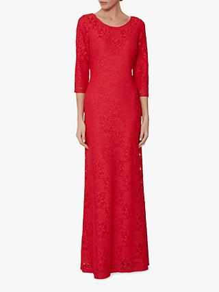 Gina Bacconi Jamie Lace Overlay Maxi Dress