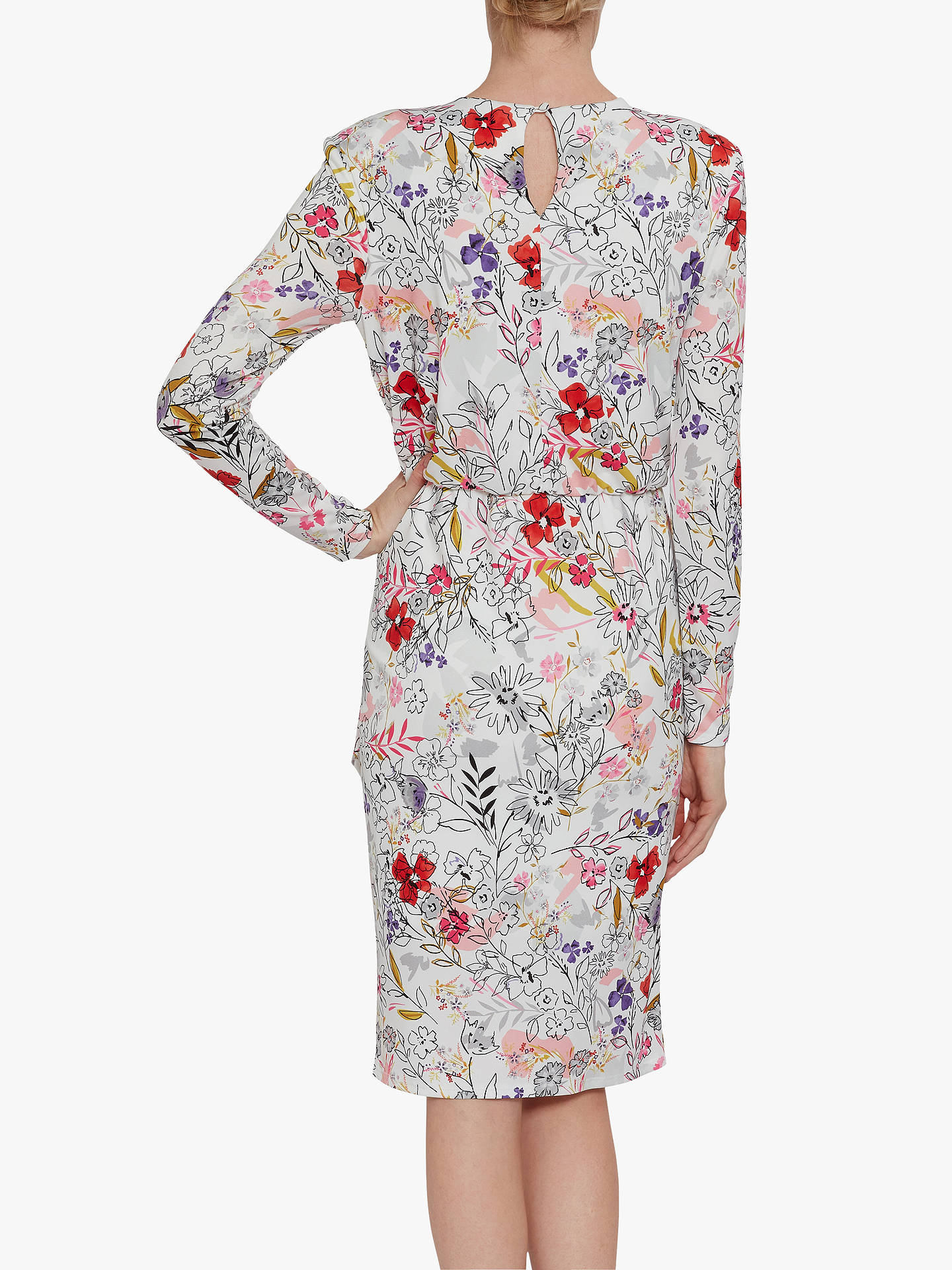 Buy Gina Bacconi Klea Floral Dress, Multi, 24 Online at johnlewis.com