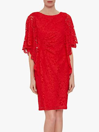 Gina Bacconi Satina Floral Lace Dress
