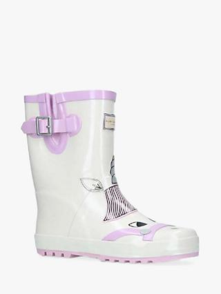 Kurt Geiger London Children's Magical Unicorn Wellington Boots, White