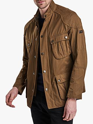 Barbour Lockseam Jacket, Dark Sand