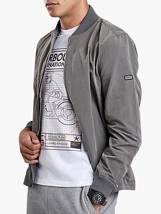 76ae06f03b8 Barbour International Bolt Zip Thru Sweater Jacket