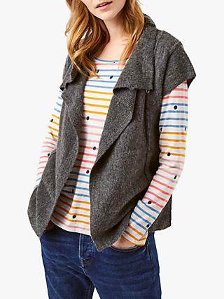 White Stuff Timber Cardigan, Charcoal
