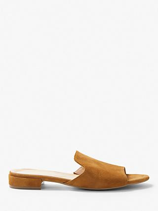 John Lewis & Partners Layla Slip On Suede Mules