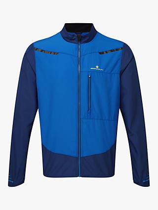 Ronhill Stride Windspeed Men's Running Jacket, Blue