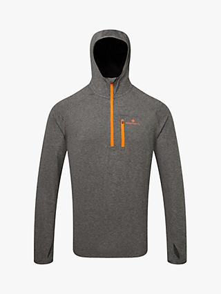 Ronhill Momentum Workout Hoodie, Grey