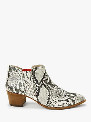 Boden Clifton Ankle Boots, Snake Leather