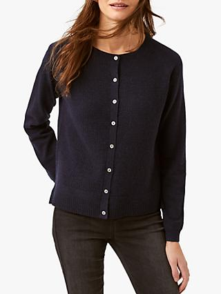 White Stuff Dusk Button Cardigan, Navy