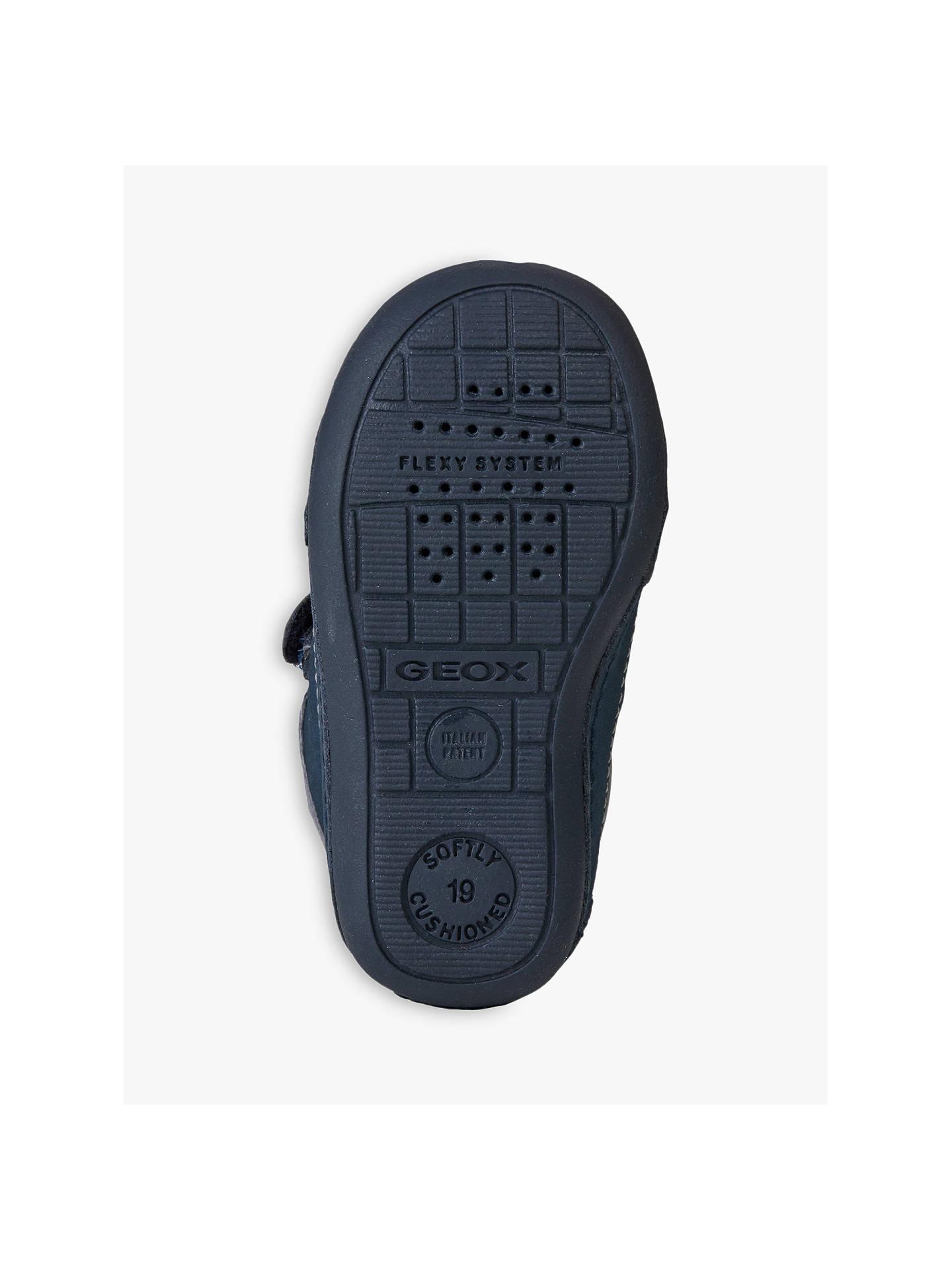 4ec18c26c4 ... Buy Geox Children's Tutim B Riptape Shoes, Navy/White, 19 Online at  johnlewis