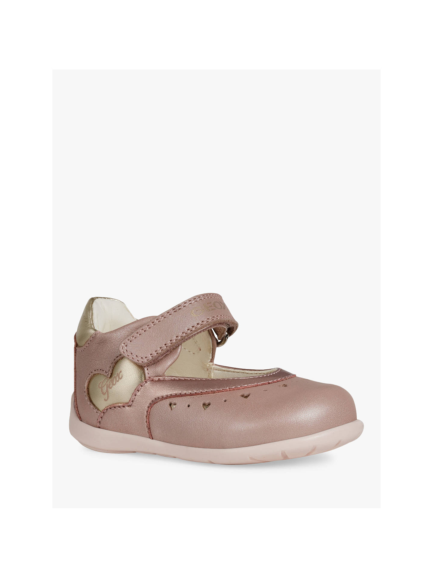 Geox Children's Kaytan Shoes, Brown at John Lewis & Partners