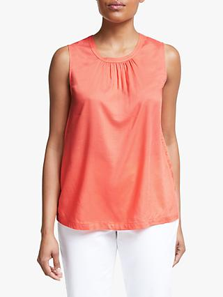 Collection WEEKEND by John Lewis Modal Sleeveless Top, Orange