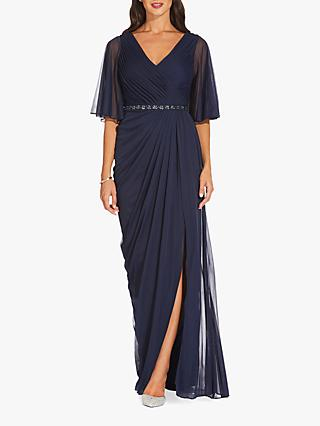 b082a51ae5a Adrianna Papell Draped Tulle Dress