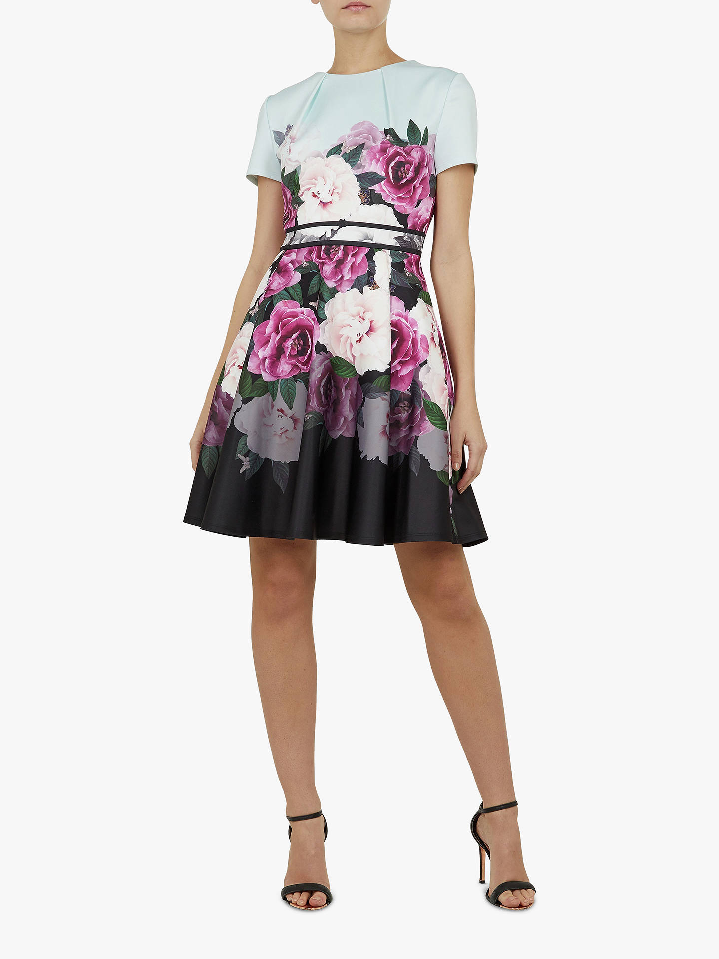 BuyTed Baker Wilmana Floral Skater Dress 88a0b4b67