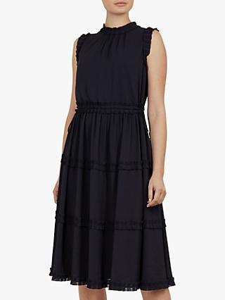 Ted Baker Sinita Midi Dress, Navy