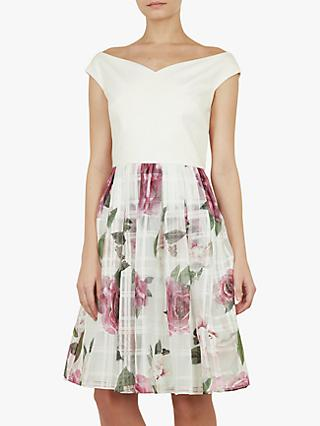 Ted Baker Licious Magnificent Bardot Dress, Mint Green