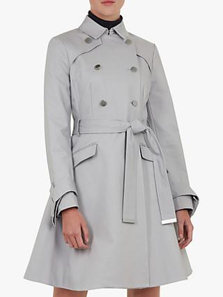 40b3c7ad51997b Ted Baker Marrian Knot Cuff Detail Trench Coat